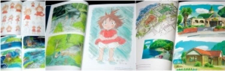 10 Artbook dei film di Hayao Miyazaki