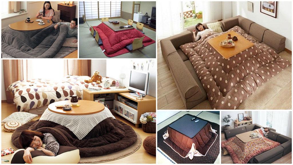 Il caldo e pigro inverno del kotatsu giapponese for Case giapponesi antiche