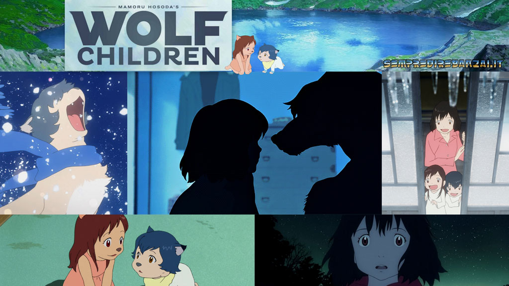 Anime consigliati DA vedere : Wolf Children