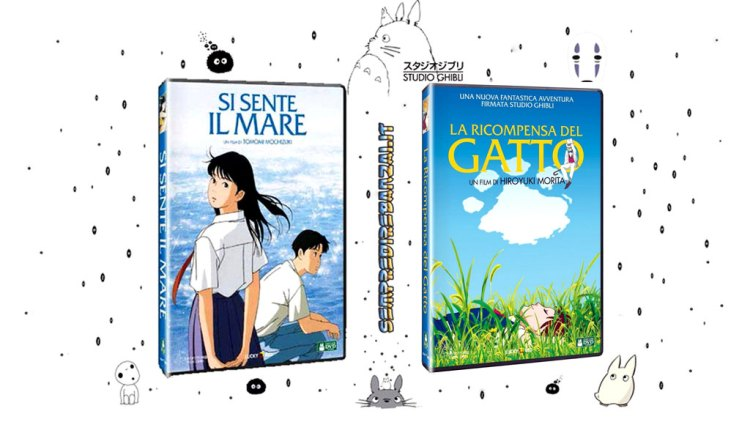 2 inediti Ghibli a marzo in Dvd e Bluray