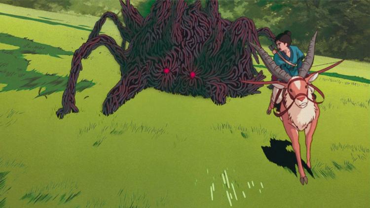 Tatuaggi maledizioni e un legame con Totoro? Principessa Mononoke