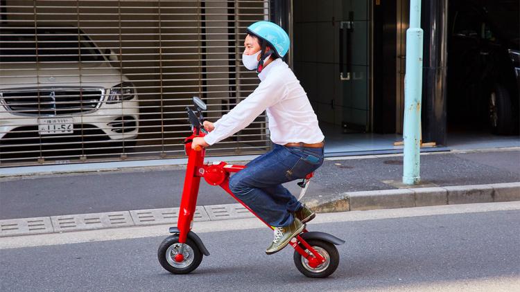 Tokyo ha un nuovo servizio di mezzi a noleggio