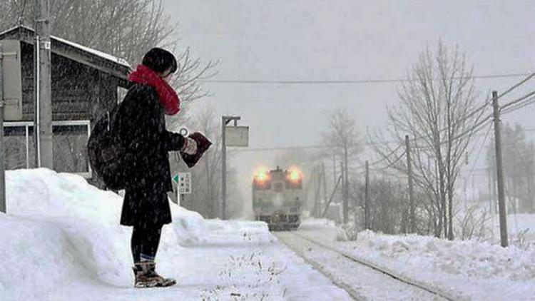 In Giappone esiste una stazione ferroviaria per una sola passeggera