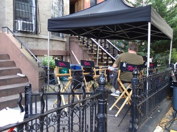 Filmando la serie The Carrie Diaries