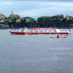 Estocolmo en barco