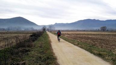 Carril Bici Olot - en Les Preses