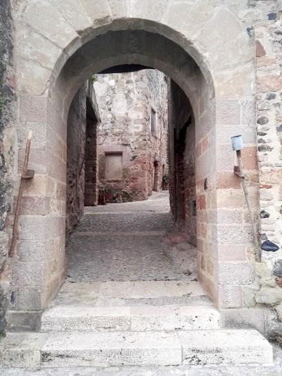 Detalle de Santa Pau