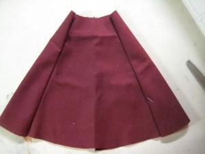 assembled skirt panels