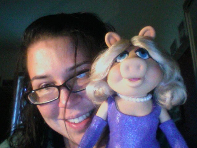 Missa and Miss Piggy
