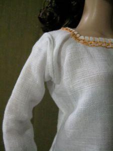 closeup of arm area