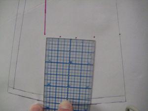 marking up the hem