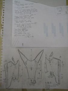tracings with notes