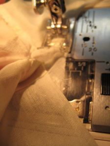 sewing the gusset