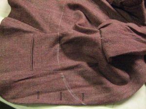 jacket marked