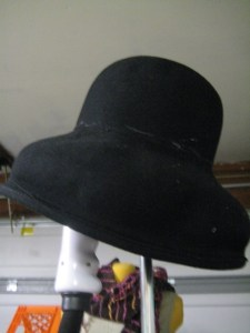 hat on steamer