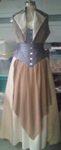 jacket before over-collar and sleeves