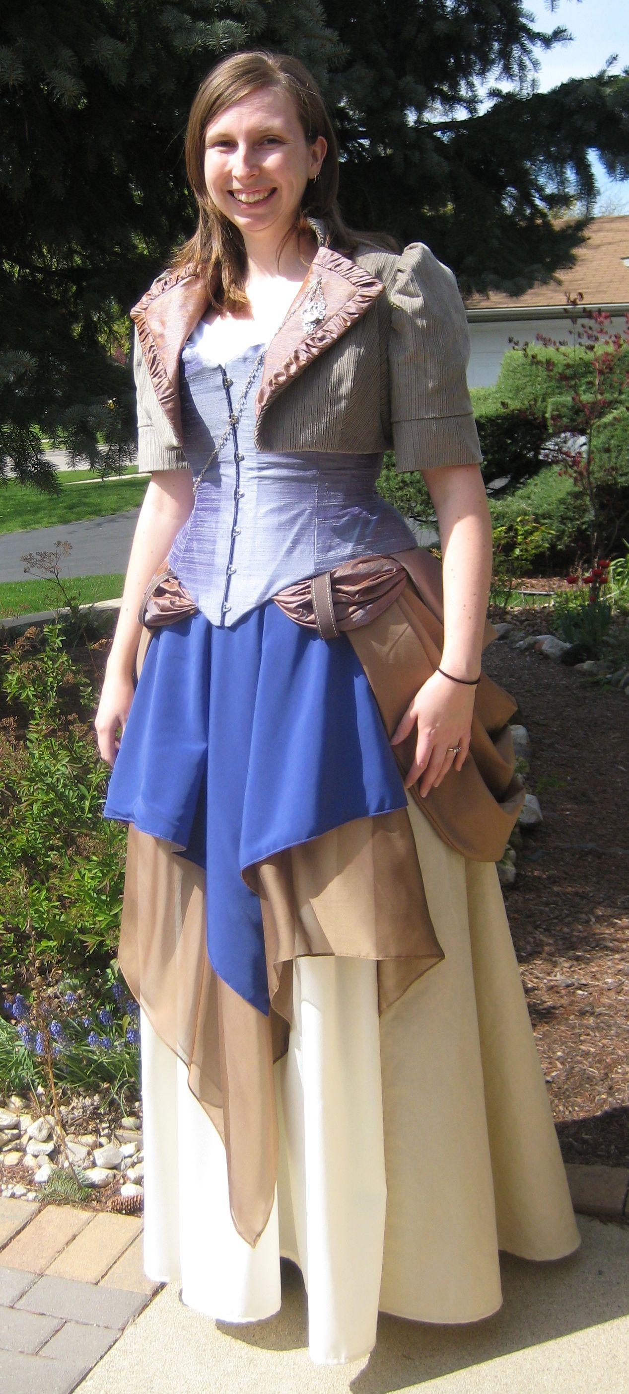 Steampunk Wedding Dress - Sempstress