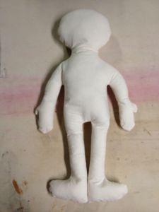 a cloth doll