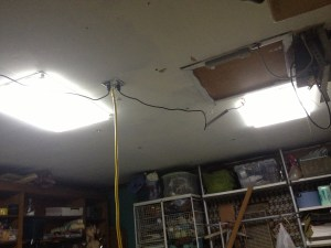 lights on ceiling