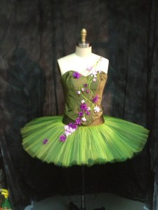 finished bodice and tutu