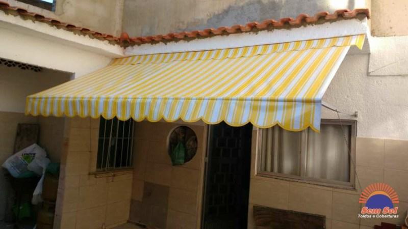 Serviço de toldo cortina