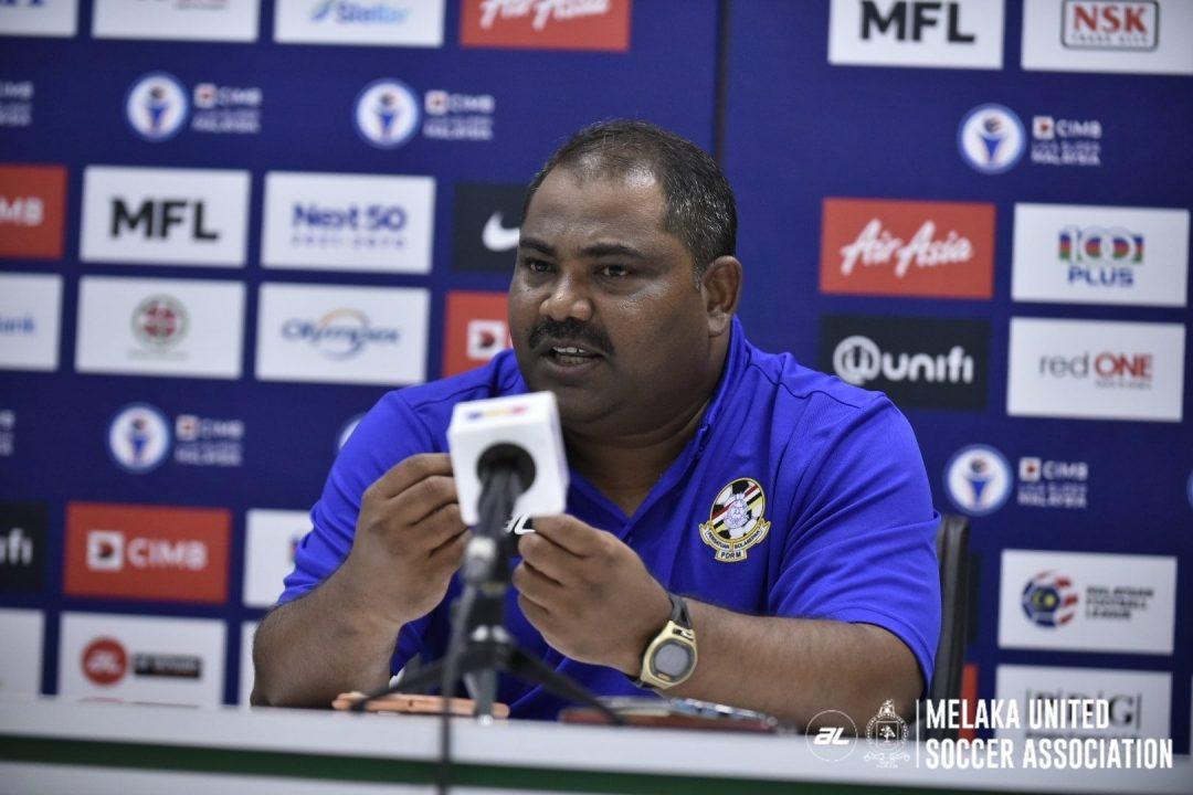 Ishak kunju PDRM Melaka United Liga Super 2020 berat badan