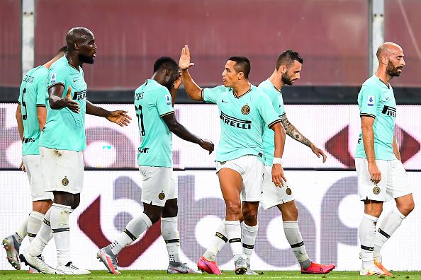 Inter Milan Romelu Lukaku Alexis Sanchez