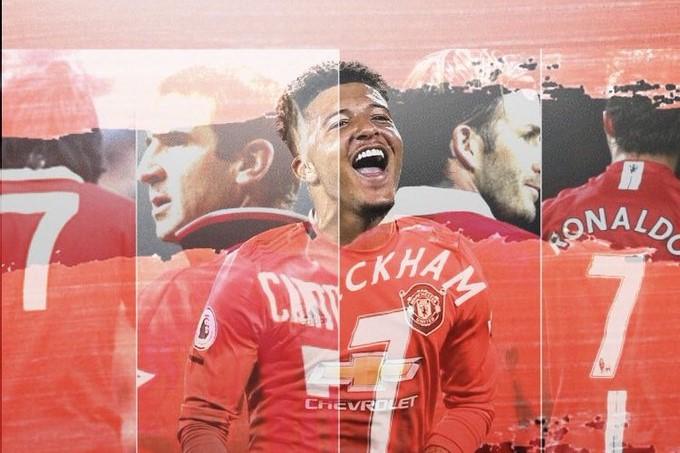 Jadon Sancho Manchester United 7