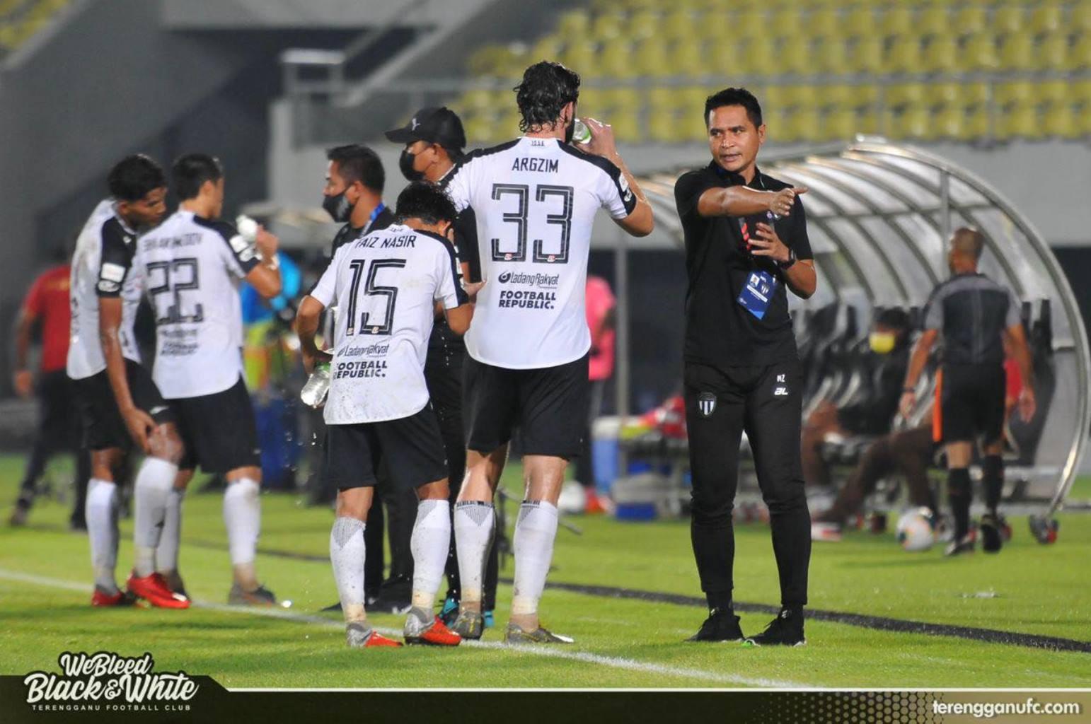 Nafuzi Zain Terengganu FC PJ City Piala Malaysia 2020 mara ke suku akhir