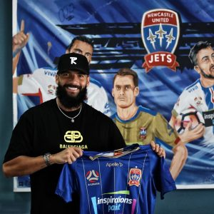 Liridon Krasniqi Newcastle Jets A-League 2021