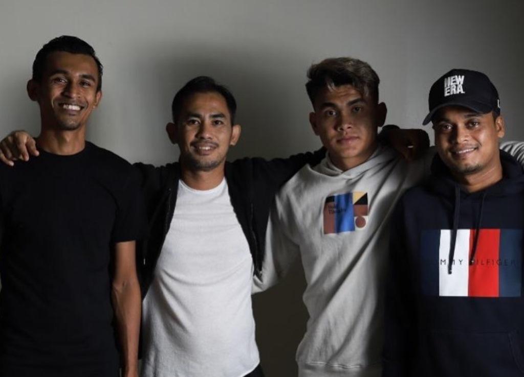Joe Estrada Shakir Hamzah Azri Ghani Perak FC