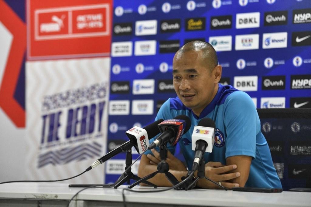 Kurniawan Dwi Yulianto Sabah FC KL City 2021