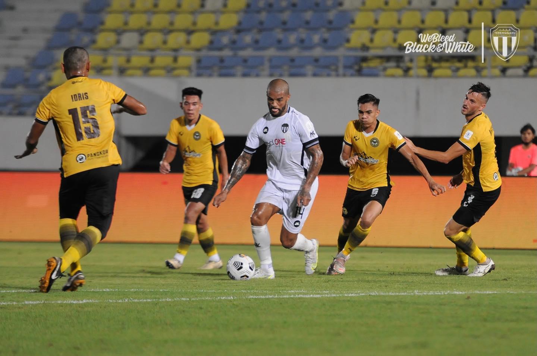 David da silva Terengganu Perak Liga Super 2021 chong Yee Fatt