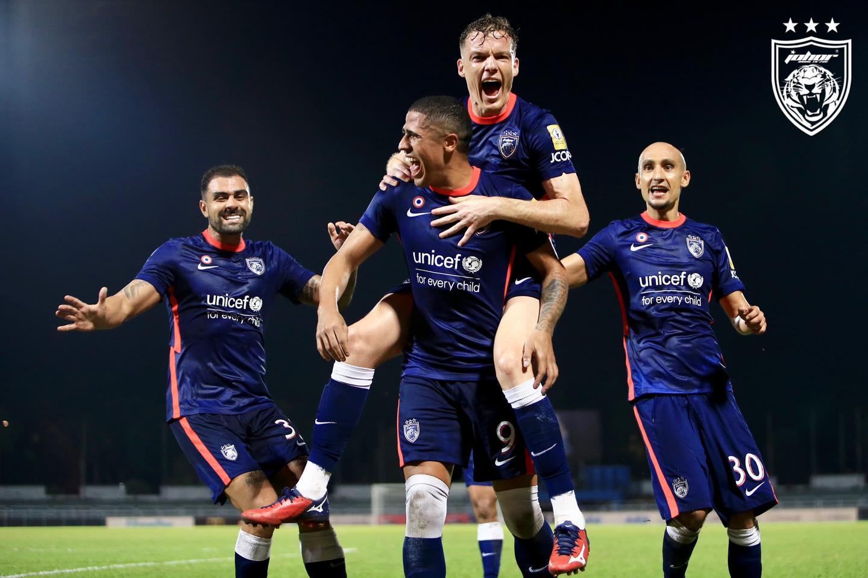 JDT Selangor Liga Super Bergson da Silva