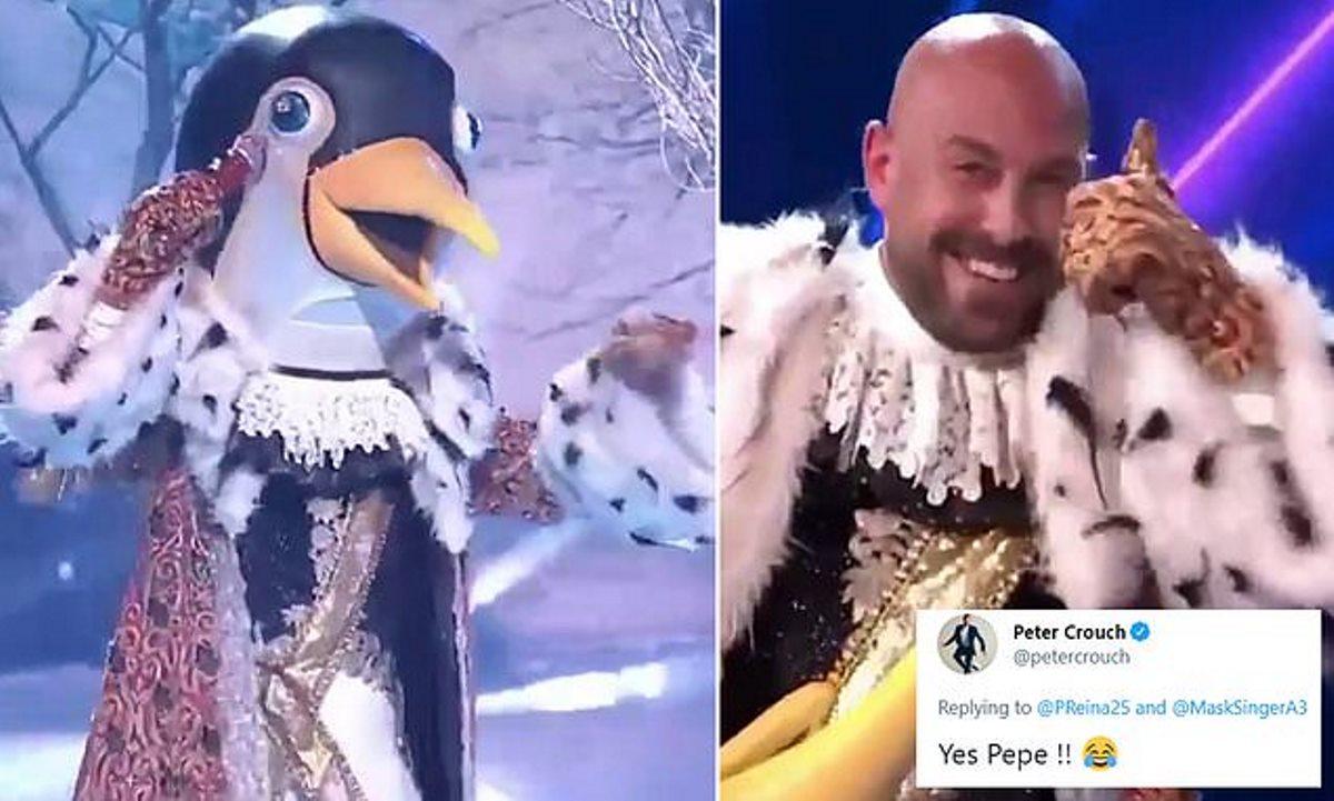 Pepe Reina Penguin Bernyanyi The Mask Singer