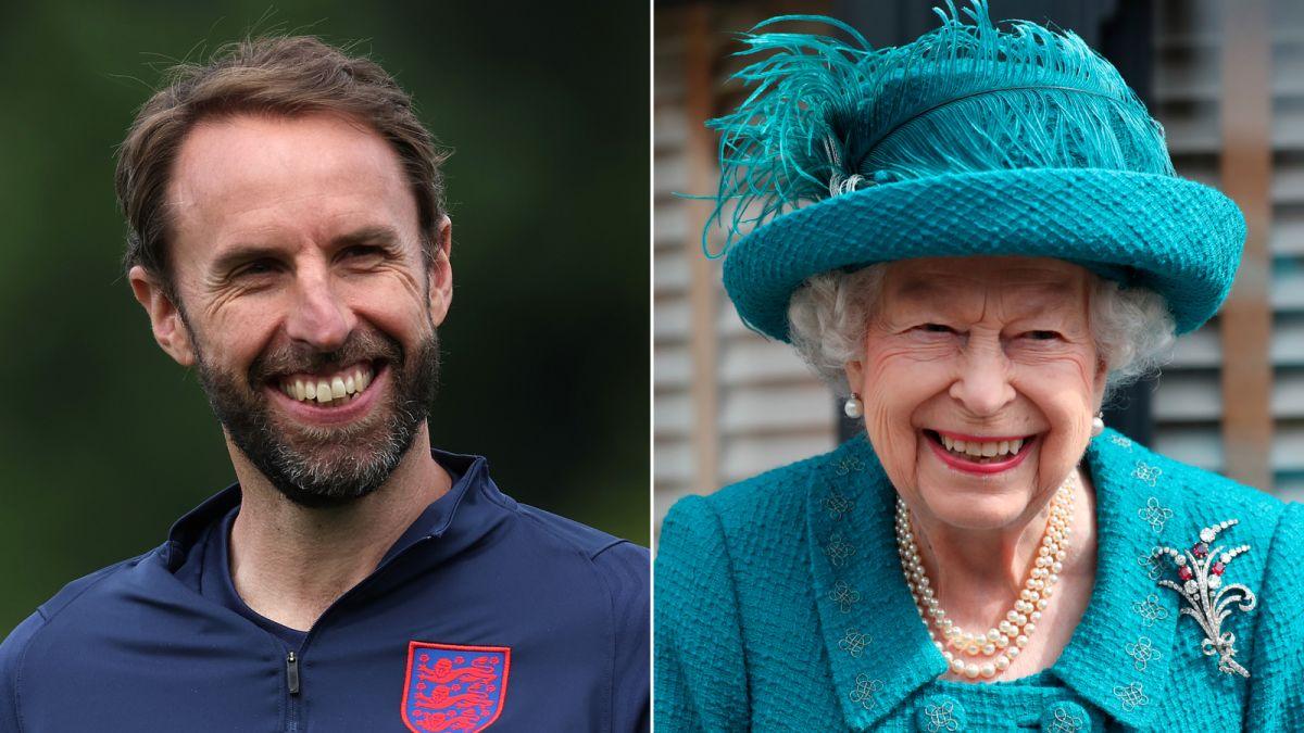 Ratu Elizabeth Gareth Southgate Englang Euro 2020