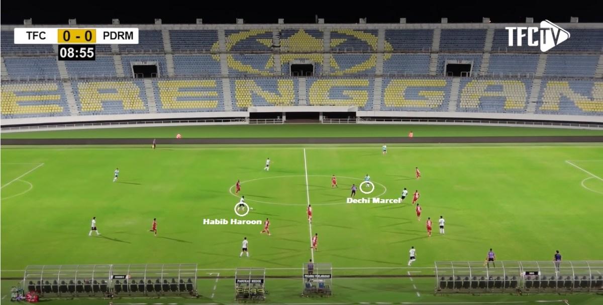 Terengganu FC 2021 Habib Haroon Dechi Marcel