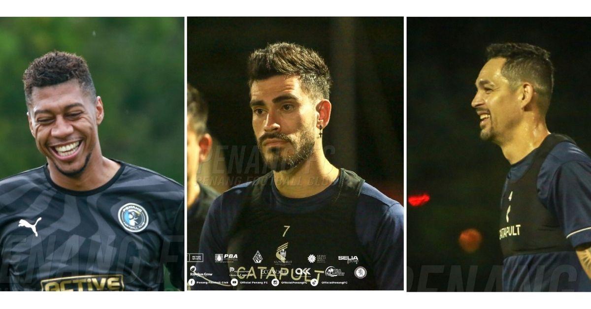 The Brazilian Trio Penang FC Endrick Rafael Vitor Casagrande