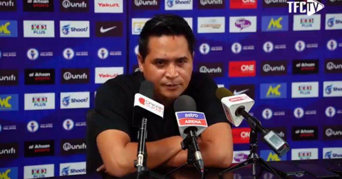 Nafuzi Zain PC Terengganu JDT surat tunjuk sebab