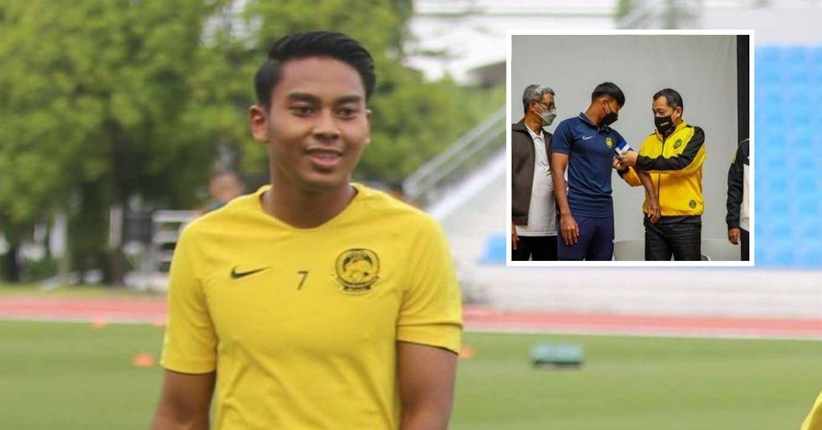Mukhairi Ajmal Harimau Muda kelayakan Piala Asia B-23 kapten