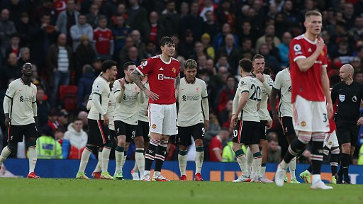 Manchester United Liverpool EPL