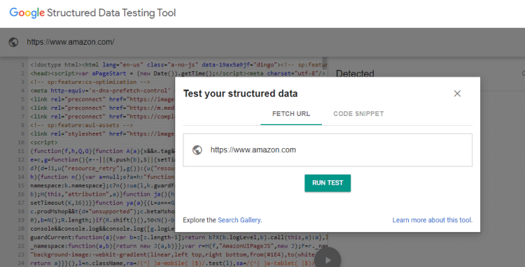 12-Structured Data Testing Tool