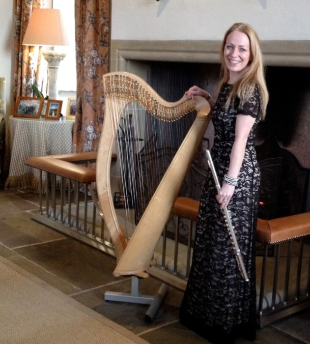 Sue Flute Harp Fenton Tower