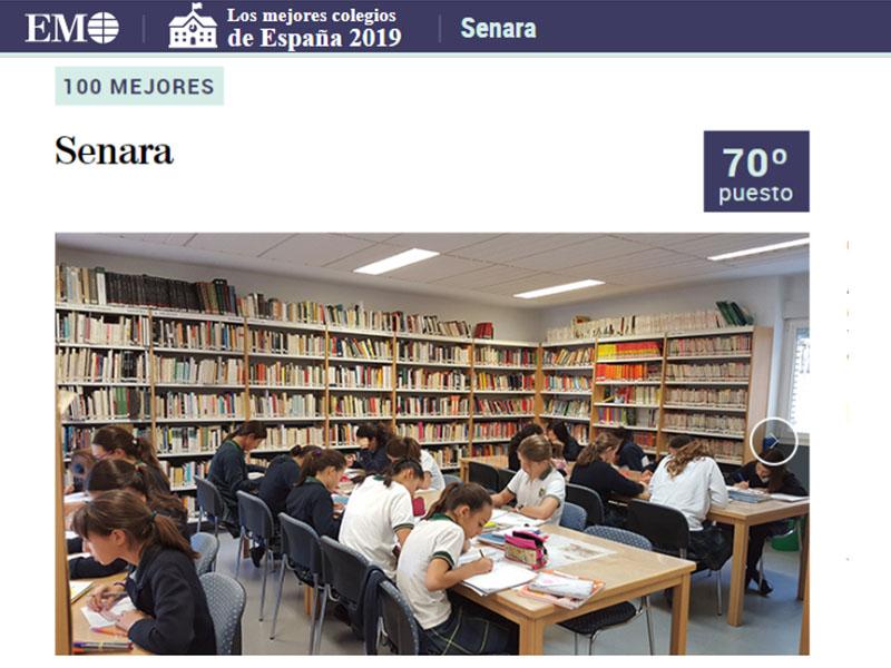 Senara entre los cien mejores colegios de España