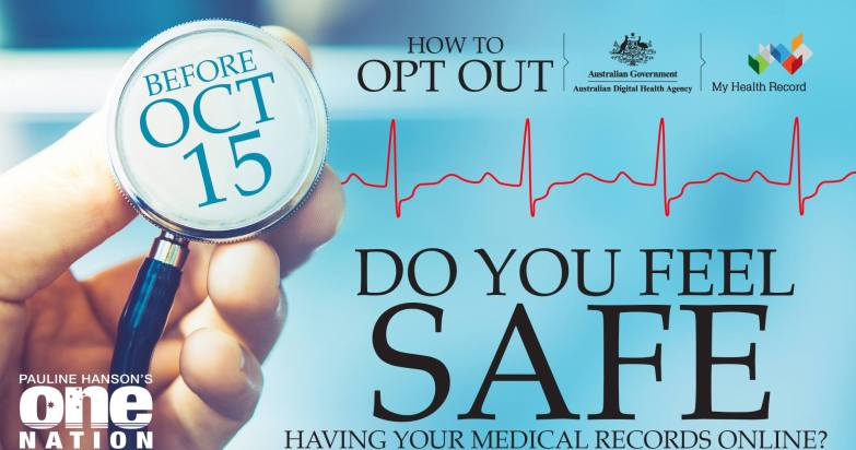 my health record opt out