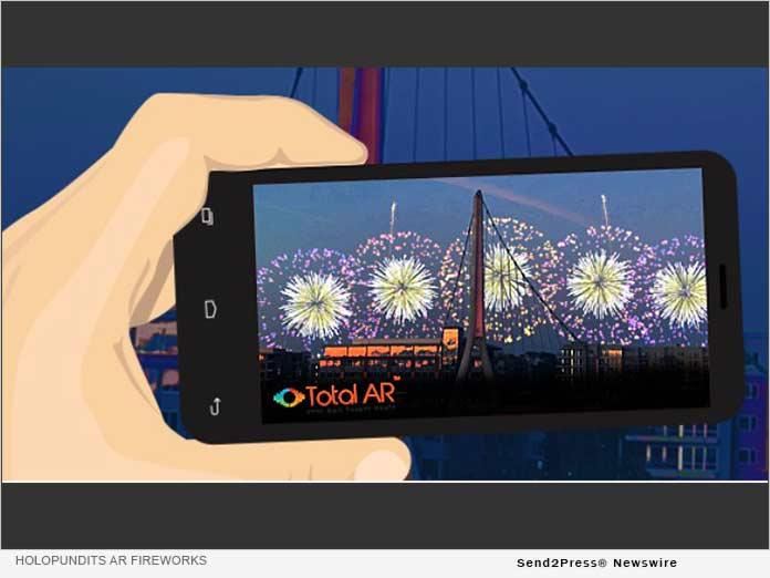 HoloPundits Augmented Reality Fireworks