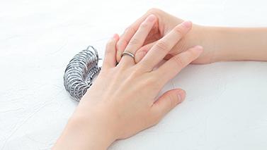 指輪サイズ測定 サイズリング