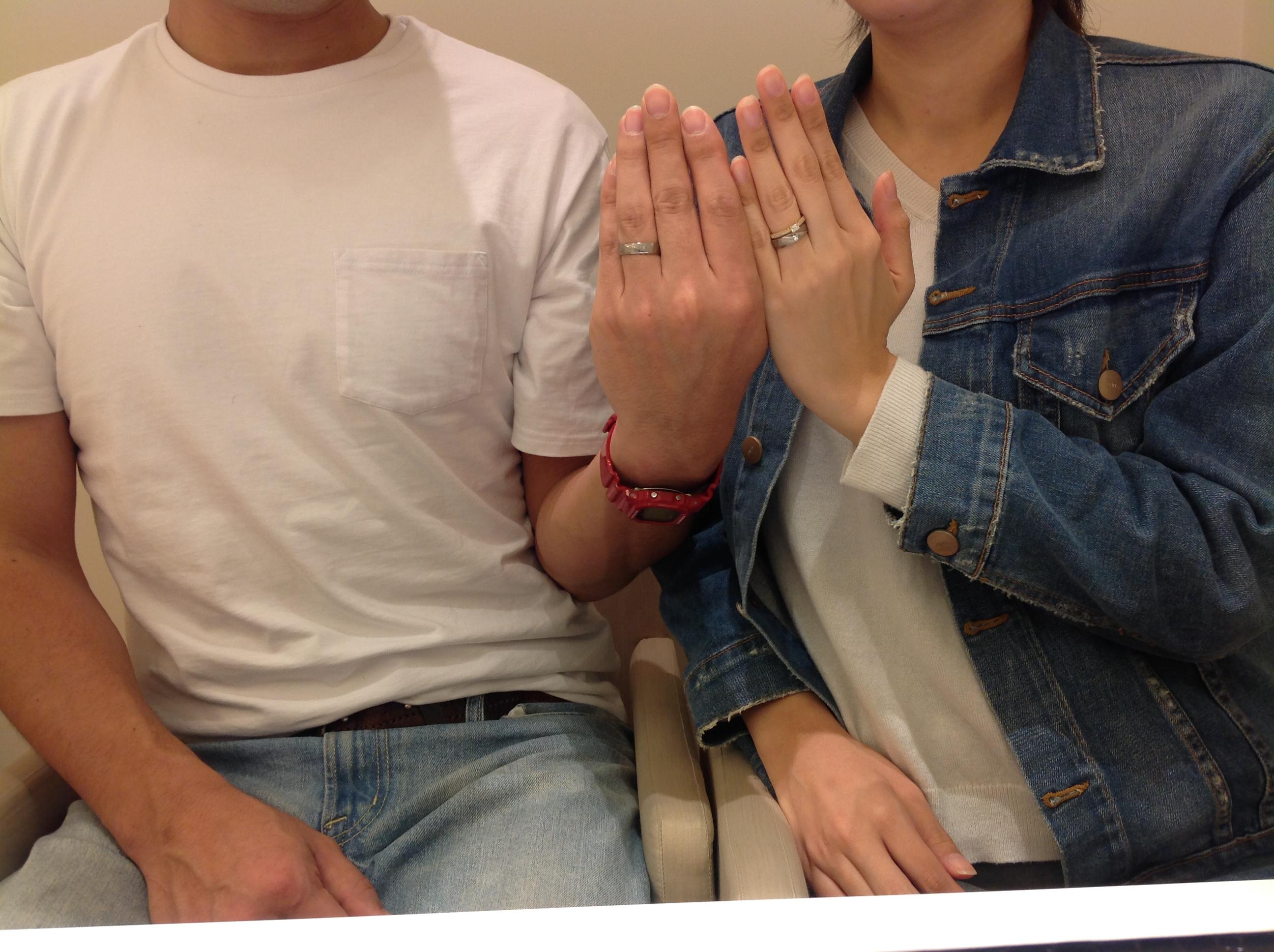 オレッキオ結婚指輪