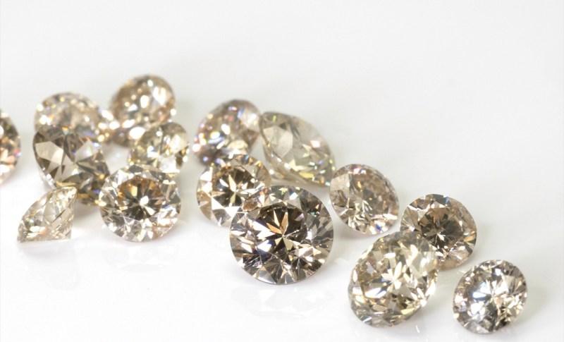 結婚指輪、婚約指輪、仙台、ブラウンダイヤ