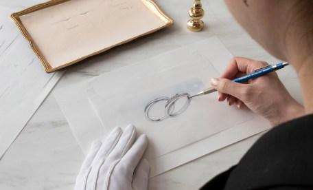結婚指輪デザイン画